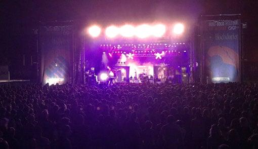 Mini-Rock-Festival: Ein Lehrstück über Unternehmertum.